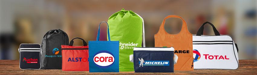 Opter pour la gamme du sac personnalisé un support publicitaire qui se remarque et une bénéficie d'un grand confort